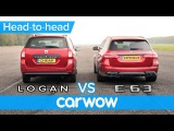 Mercedes-AMG E63 S vs Dacia Logan DRAG RACE, BRAKE AND COMFORT challenge | Expensive vs Cheap
