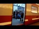 Метро Санкт-Петербурга 5:1 линия от Политехнической до Академической на Юбилейный-2 вагон №22025