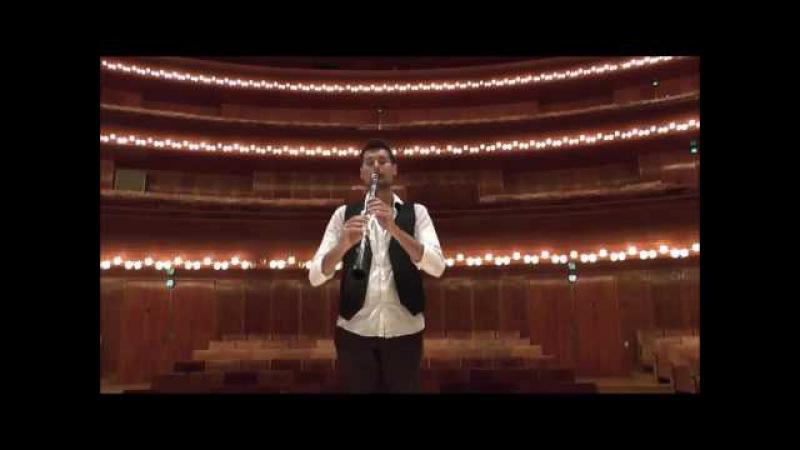 Punzi plays Paganini Capricne no. 24 (excerpts)
