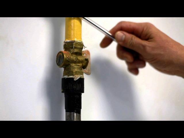 Соединение газовой колонки с газопроводом ликбез