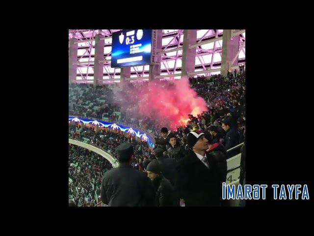 Imaret Tayfa | Ultras Qarabag | matchday against chelsea