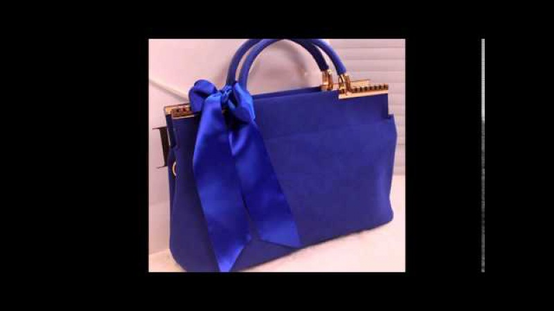 Кокетливые красивые женские сумки с бантом. Разные варианты бантов на сумках