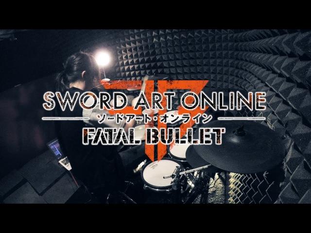 【Sword Art Online Fatal Bullet】LiSA-Thrill, Risk, Heartlessフルを叩いてみた SAO FB Opening full Drum Cover