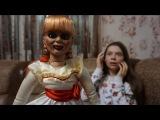 Живая кукла Аннабель в реальности • Nepeta