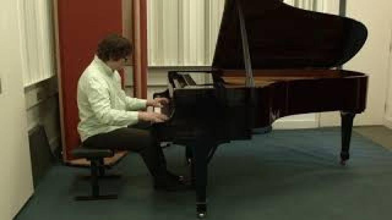 Svyatoslav Antipov plays Liszt, Les jeux d'eau a la Villa d'Este