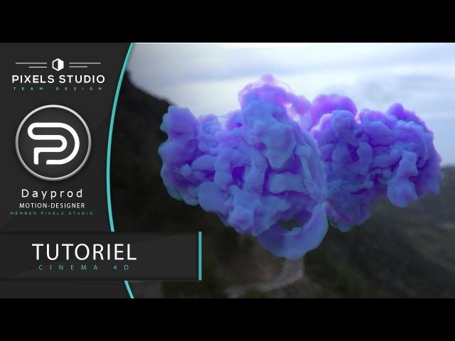 Tutorial Cinema4D | make volumetric cloud for octane render and corona render