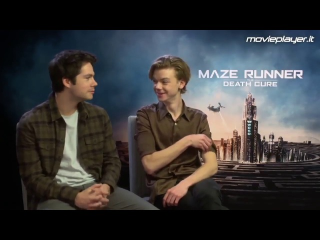 [VOSTFR] Dylan O'Brien Thomas Sangster talk Newtmas ~Labyrinthe 3~ Maze Runner : The Death Cure