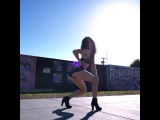 """Samantha Long on Instagram: """"Tag 2 friends you wanna dance with! Choreographed and danced by: @samantha_long_  Filmed by: @rvde._  Song: #azukita..."""