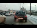 Массовая авария на мосту по ул. Лукашевича (09.01.2018)