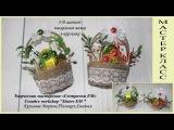 3D магнит. Пасхальное яичко в корзинке 3D magnet. Easter egg in a basket