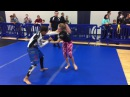 BJJ Girl Wins With Armbar vs Boy in No Gi Match