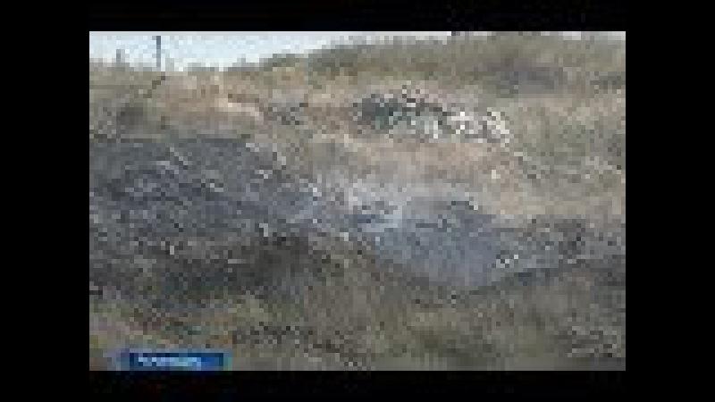 МЧС: рядом с СНТ Салют у мкрн Суворовский тлеет свалка, но пожара больше нет