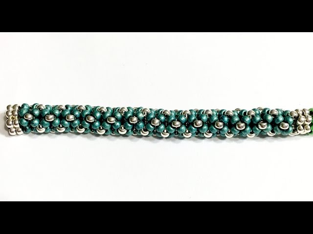 Beadweaving Basics Tubular Chenille Stitch With Border