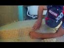 Радиусный пьедестал для ванной Оклейка подступенка мозаикой