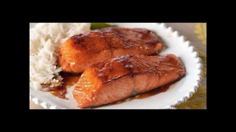 Семга или Форель в соевом соусе рецепт китайской кухни