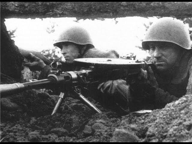 Необычный случай на поле боя. Великая Отечественная Война.