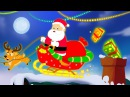 Santa Down The Chimney | Christmas Nursery Rhyme For Children | Toddlers Videos by Kids Tv
