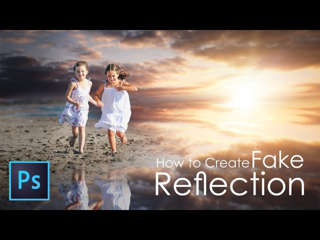 Outdoor Portrait Edit (FAKE REFLECTION) In Photoshop 2017 (Tutorial) 📸❤