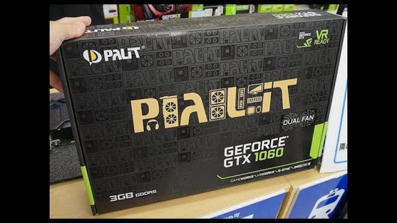 Видеокарта Nvidia Palit GeForce GTX 1060 StormX