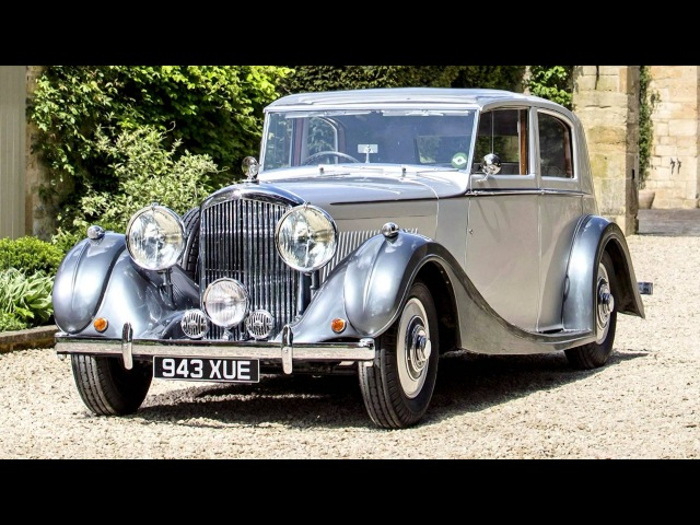 Bentley 4 Litre Sports Saloon by Mulliner '1938