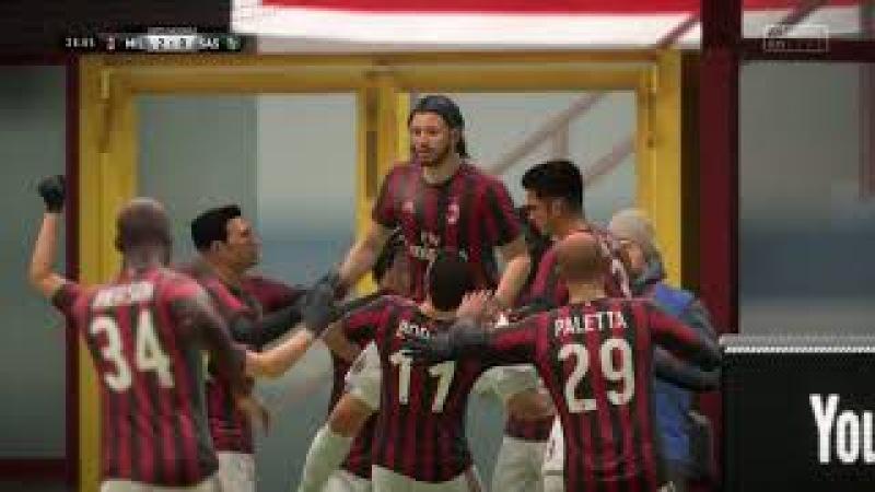 Прохождение FIFA 18 карьера за Игрока: Геральта из Ривии - Часть 34: 1/8 финала кубка Италии