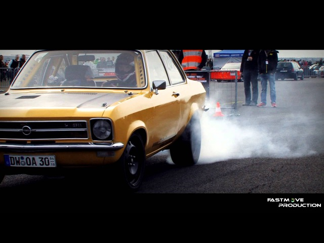 Opel Ascona A 3l 24v Turbo - Rothenburg - Cult Style 2013 @ 11,830s 186,650 Km/h