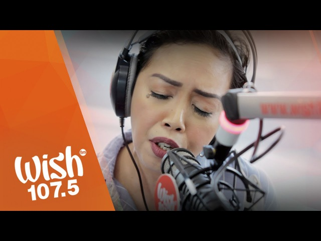 Kakai Bautista sings I Need You (Leann Rimes) LIVE on the Wish 107.5 Bus
