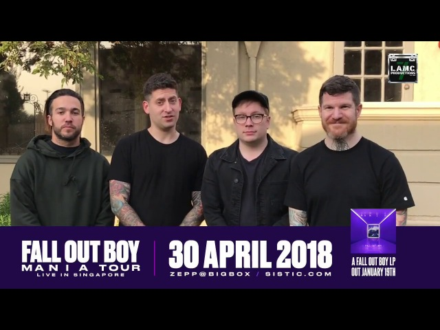Fall Out Boy Singapore Greeting