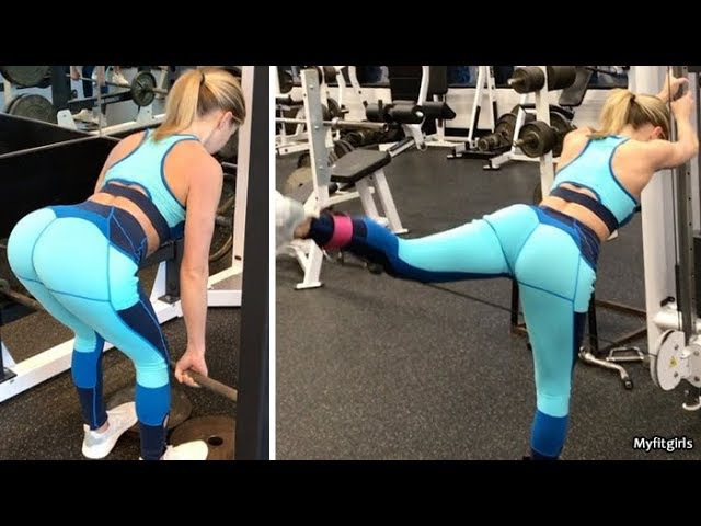 SHANNON TANSLEY - Fitness Model: Hamstring, Thigh Glute Toning Exercises @ USA » Freewka.com - Смотреть онлайн в хорощем качестве