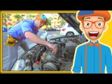 Blippi the Handyman  Videos for Kids  Fixing things with Tools