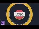 Шейповое интро лого в After Effects Shape Logo Intro in After Effects