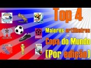 Top 4 Maiores artilheiros da Copa do Mundo Por edição