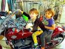 Гонщики Мотоциклисты на Харлее