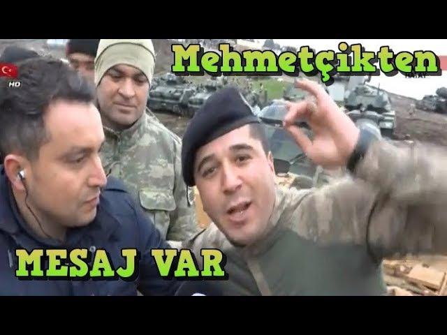 Afrinde Son Durum Mehmetçikten Türkiyeye Mesaj Var