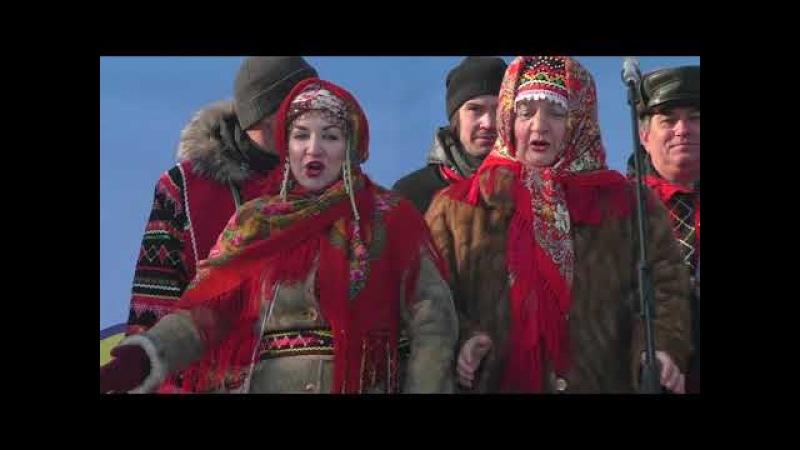 НАШ БИЙСК/Бийск на ладони «Гуляй, Масленица!» на Петровском бульваре