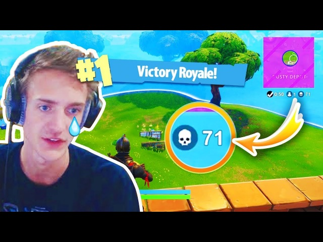 WORLD RECORD kills by NINJA - Fortnite Funny Fails and WTF Moments! (Daily Best Moments)