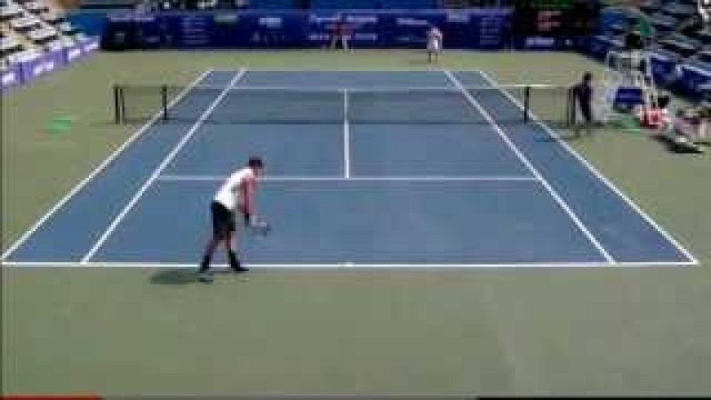Sam Groth - Fastest Serve Ever World Record Tennis Slow Motion 263kmh