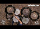 Meinl Byzance Extra Dry Dual Special Pack FREE 20 Dual Crash-Ride (BDU15182220-816FF)