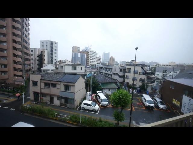 Из окна поезда. Япония. Asakusa - Aizu-Tajima. (полная версия)