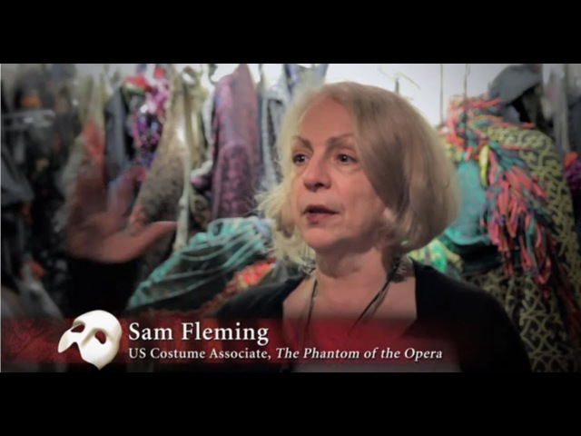 The Phantom of the Opera - backstage costumes