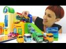 Машинки и новая трасса Игры для детей с Капуки Кануки