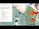 Делаем концепцию участка в ГИС инструментах Гугл Мои Карты