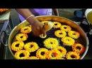 Индийская уличная еда - вкусная жареная IMARTI Индийские сладости Jhangri   Урад дал Джалеби
