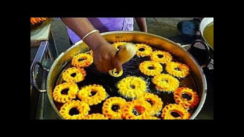 Индийская уличная еда вкусная жареная IMARTI Индийские сладости Jhangri Урад дал Джалеби