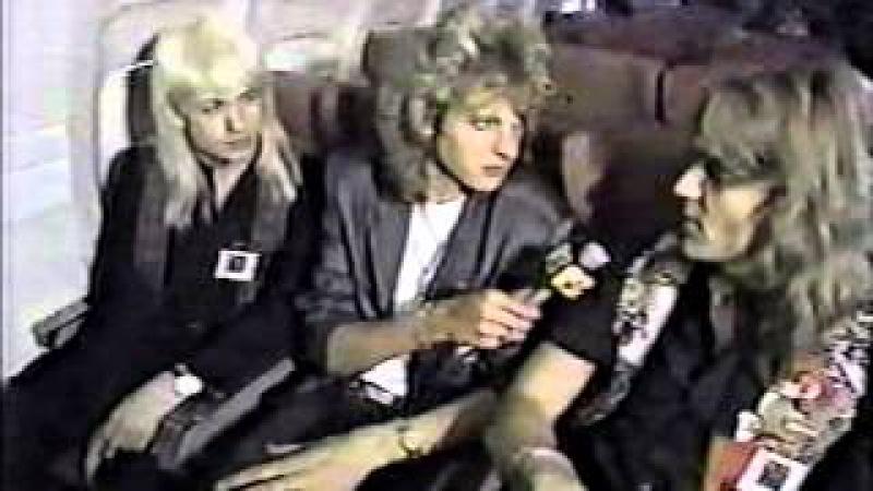 Gorky Park Interview Vintage MTV Headbangers Ball 1989 Moscow Music Peace Festival