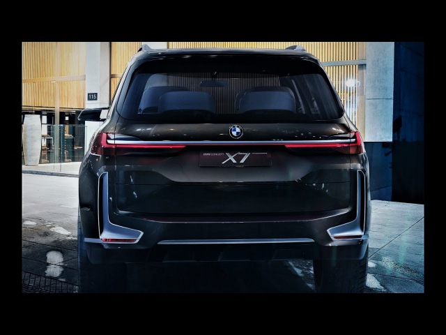 NEW 2018 - BMW X7 Concept - Exterior and Enterior Full HD 1080p