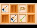 Развивающие мультики для самых маленьких Изучаем инструменты Мультфильмы Пазлы 6