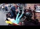 Жим ногами 200кг Наталья Власова групповая тренировка тренер Max Zhuikov Fitbody