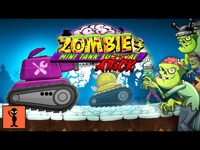 Zombie Survival Games: Pocket Tanks Battle - Android Gameplay Funny Videos Racing Game