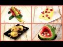 Как Красиво Оформить Стол Сказочные Украшения Из Овощей И Фруктов